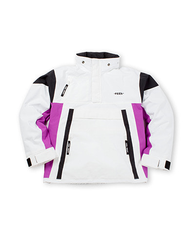 WIND STOPPER ANORAK WHITE