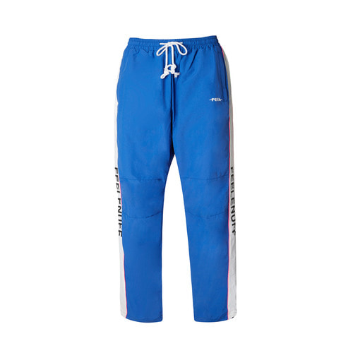 PIPING TRACK PANTS BLUE